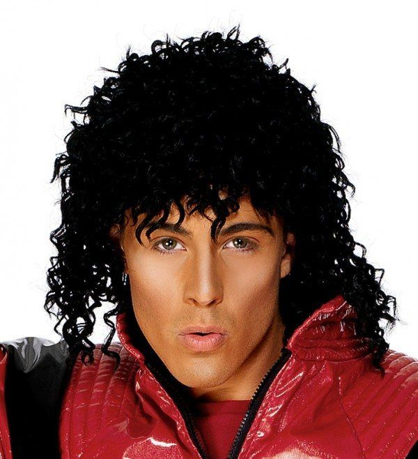 Disfraz Michael Jackson Carnaval 2021 peluca