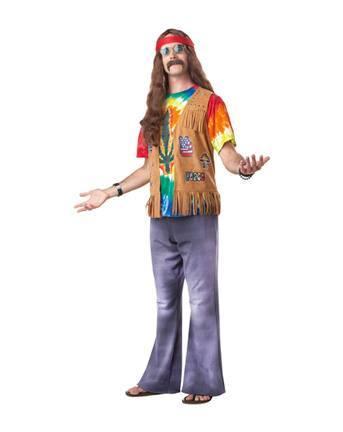 Disfraces originales de Halloween hombre 2020 hippie
