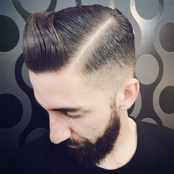 peinados-hombre-2016-cabello-corto-raya-marcada