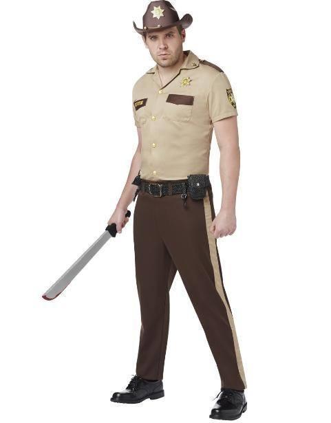 Disfraces originales de Halloween hombre 2020 Rick Grimes low cost