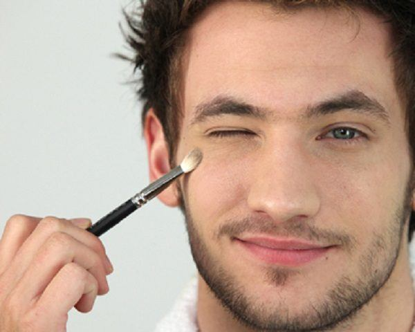Maquillaje hombre