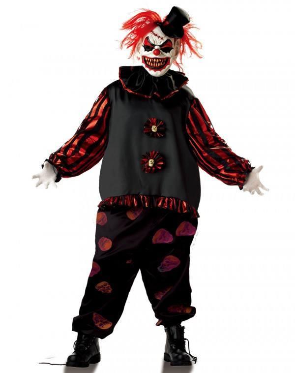 Disfraces originales de Halloween hombre 2020 Payaso demonio