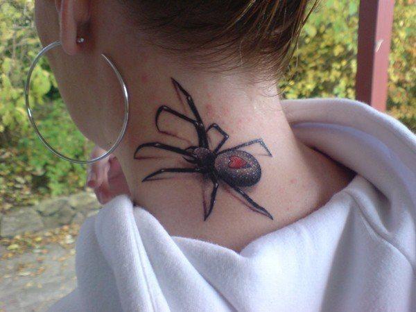 las-fotos-de-tatuajes-en-3d-arana