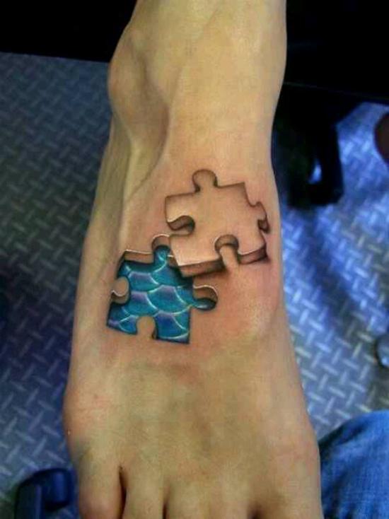 las-fotos-de-tatuajes-en-3d-puzzle