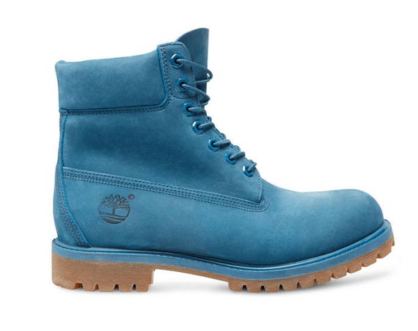 botas timberland azules