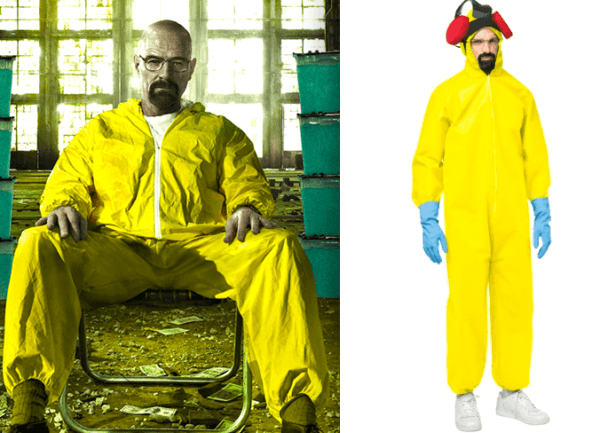Disfraces originales de Halloween hombre 2020 Breaking Bad