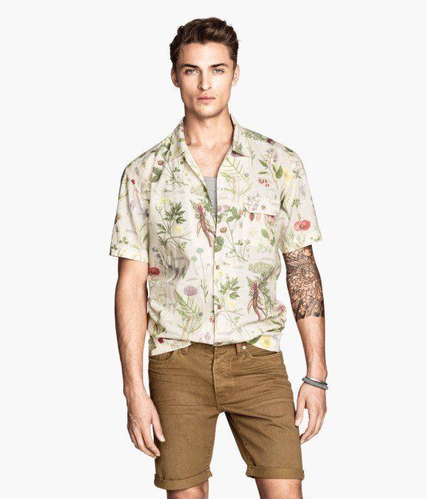 tendencias-camisas-para-hombre-primavera-verano-2014-camisa-lino-h&m