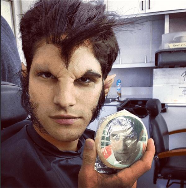 maquillaje-de-hombre-lobo-para-halloween-2020
