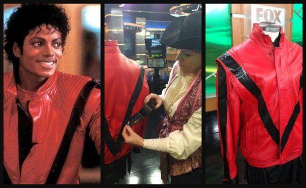 Disfraz Michael Jackson Carnaval 2021 chaqueta roja