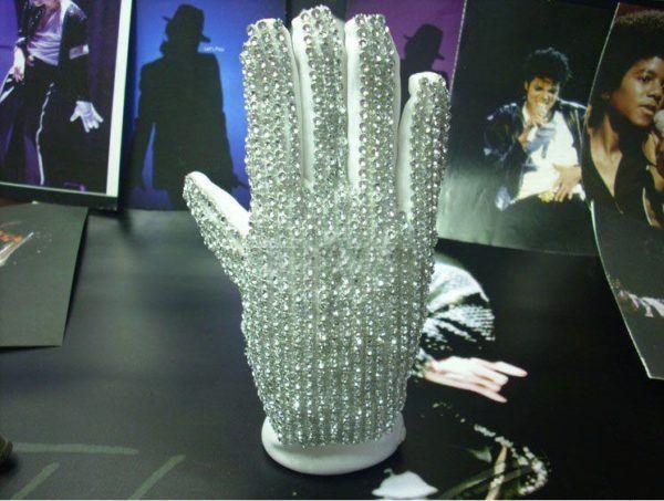 Disfraz Michael Jackson Carnaval 2021 guante brillos