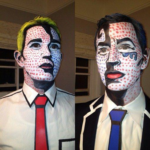 Disfraces originales de Halloween hombre 2020 Lichtenstein