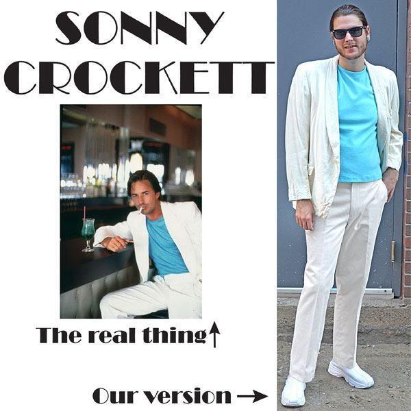 Disfraces originales de Halloween hombre 2020 Sonny Crockett
