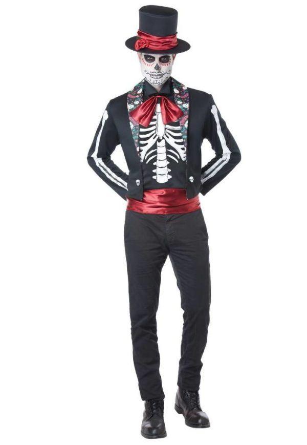 Disfraces originales de Halloween hombre 2020 Día de los Muertos