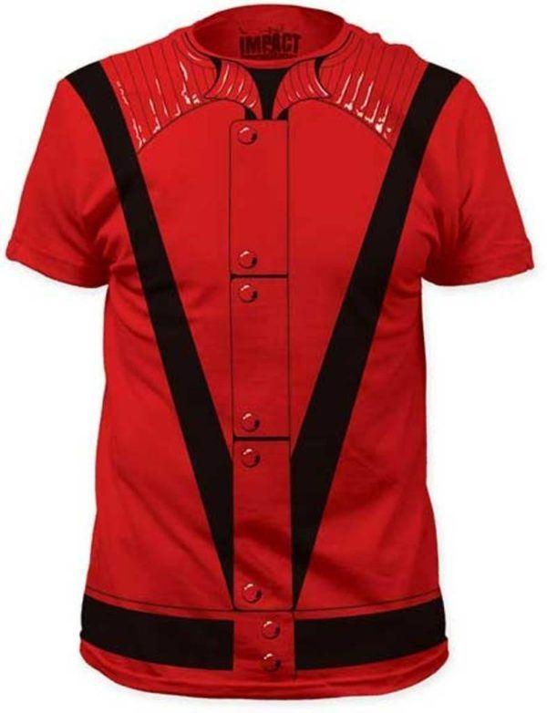 Disfraz Michael Jackson Carnaval 2021 camiseta Thriller