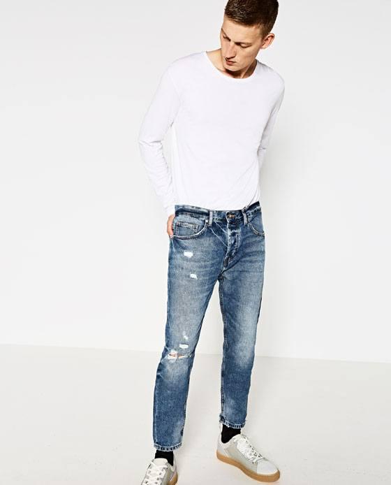 Tendencias-Pantalones-y-Jeans-Hombre-Otoño-Invierno-2016-2017-tejanos-rotos-zara