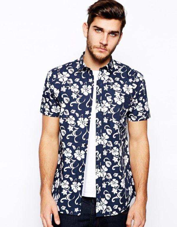 moda-hombre-2014-camisa-estampada