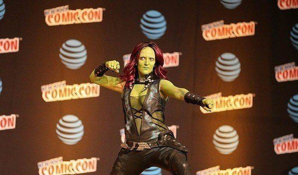 Disfraces Halloween Guardianes de la Galaxia Gamora