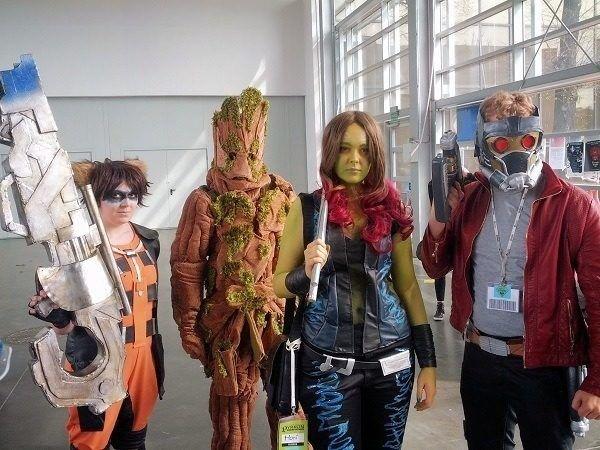 Disfraces Halloween Guardianes de la Galaxia Comic Con