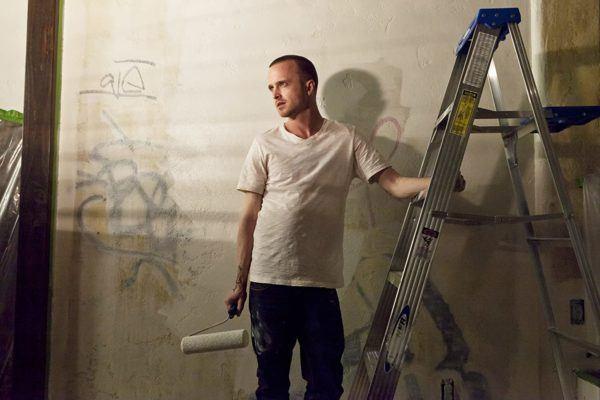 Jesse Pinkman Breaking Bad pintando