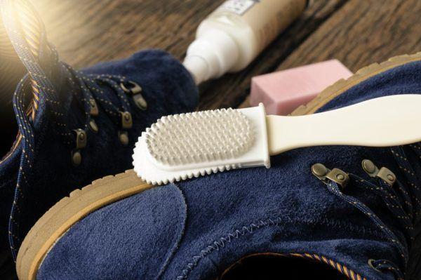 Cuidados del zapato de ante
