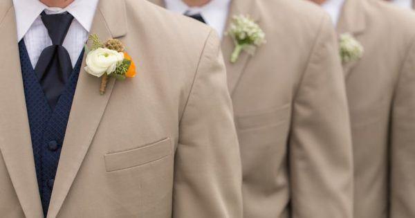 Las claves para elegir el color de tu traje beige lino