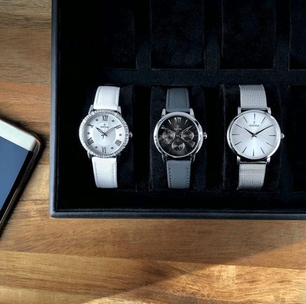 Catálogo relojes Festina colección 2020 2021 trío de relojes