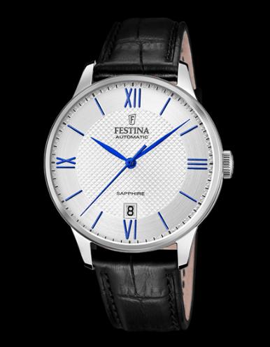 Catálogo relojes Festina colección 2020 2021 Automático azul