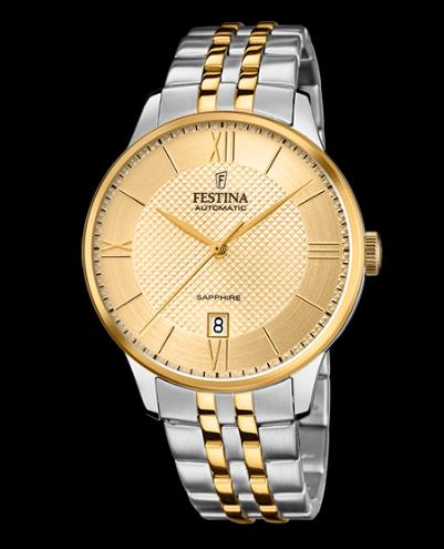 Catálogo relojes Festina colección 2020 2021 Automático dorado