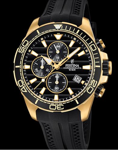 Catálogo relojes Festina colección 2020 2021 The Originals dorado