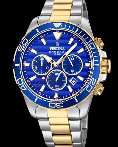 Catálogo relojes Festina colección 2020 2021 Prestige azul