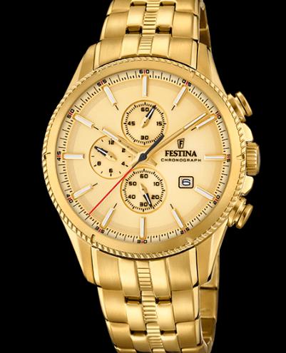 Catálogo relojes Festina colección 2020 2021 Prestige dorado