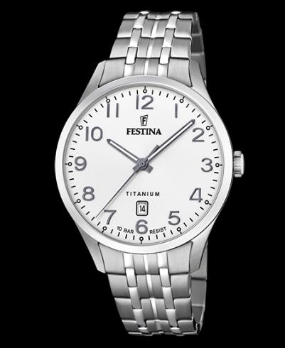 Catálogo relojes Festina colección 2020 2021 Titanium plata