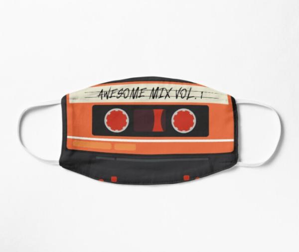 Disfraces Halloween Guardianes de la Galaxia mascarilla Awesome mixtape