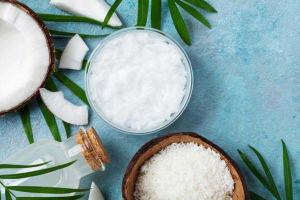 Receta de crema de afeitar de coco