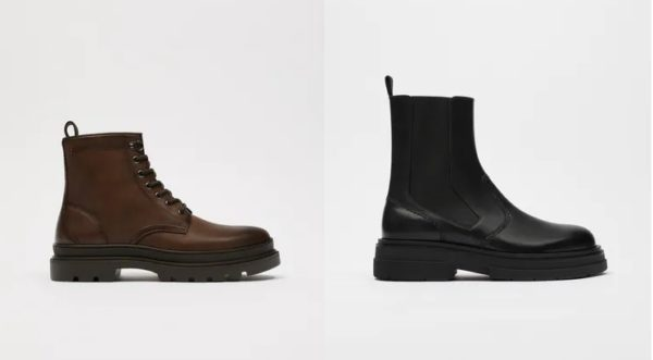 Botas y botines de moda para hombre tendencias otoño invierno 2021 2022 botas de zara