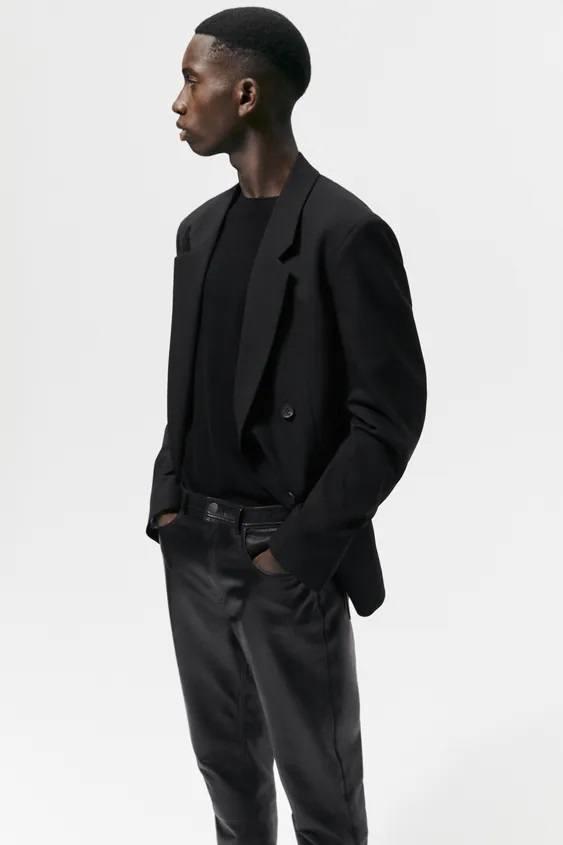 Moda otoño invierno 2021 2022 pantalon piel zara
