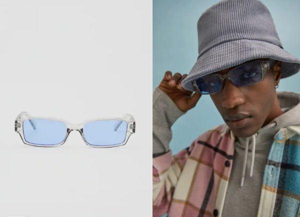 Tendencias gafas verano gafas diseño transparente de pull and bear