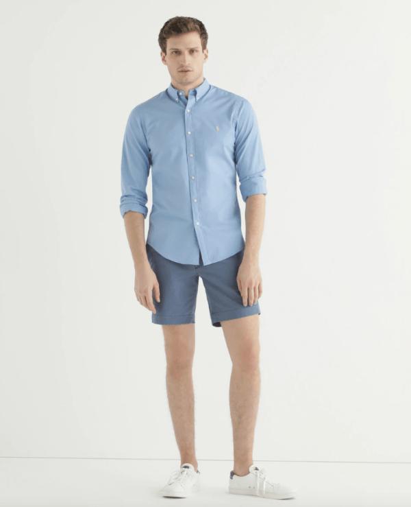 Las Rebajas de El Corte Inglés Verano 2021 pantalón chino corto Ralph Lauren