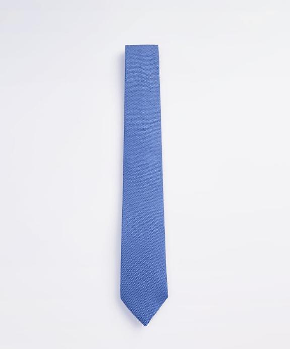 Corbata ancha estructura cuadrille azul Zara Temporada Otoño Invierno 2020 2021