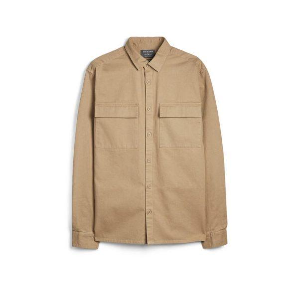 Camisa manga larga crudo Primark temporada otoño invierno 2020 2021