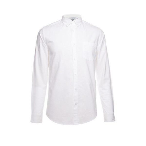 Camisa oxford blanca Primark temporada otoño invierno 2020 2021