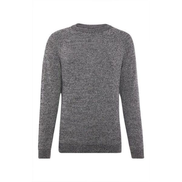 Jersey canalé gris cuello redondo Primark temporada otoño invierno 2020 2021