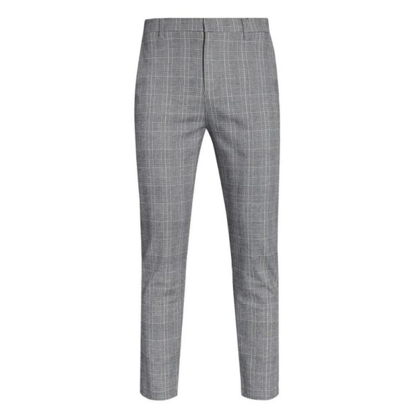 Pantalón gris cuadros Primark temporada otoño invierno 2020 2021