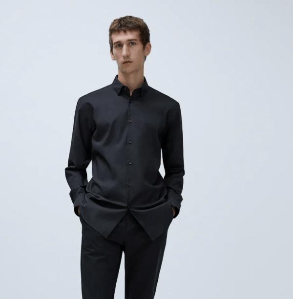 Camisa traveler catálogo Zara temporada otoño invierno 2020 2021