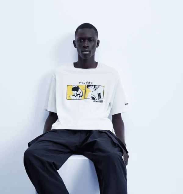 Camiseta Oliver Benji catálogo Zara temporada otoño invierno 2020 2021