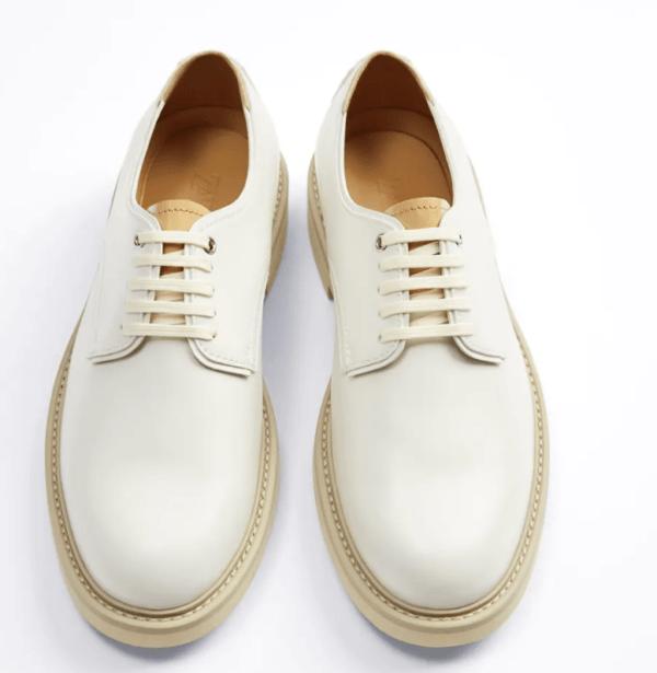 Zapatos suela contraste catálogo Zara temporada otoño invierno 2020 2021