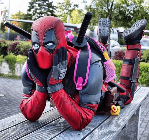 Disfraz Deadpool Halloween 2020