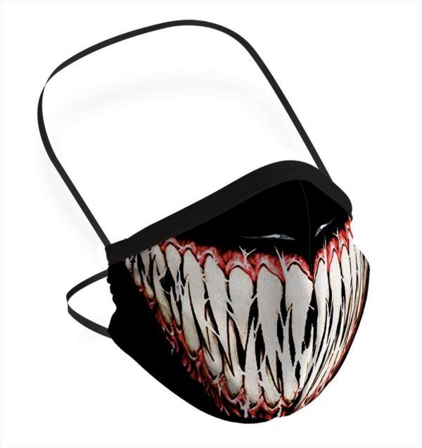 Mascarilla Venom para Halloween 2020
