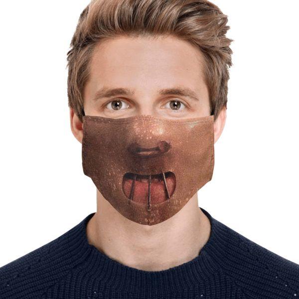 Mascarilla Hannibal para Halloween 2020