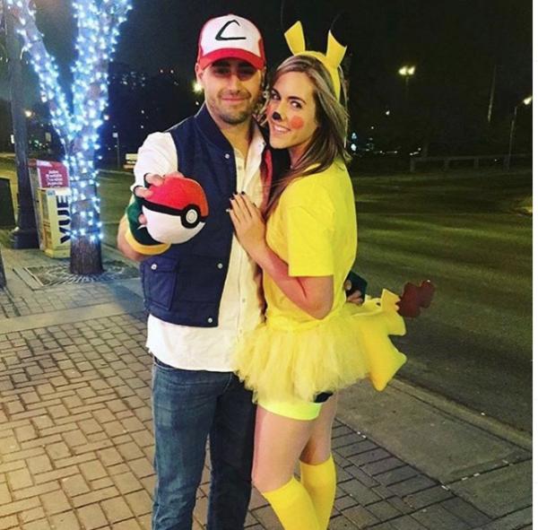 Disfraz Pokemon Go pareja Halloween 2020